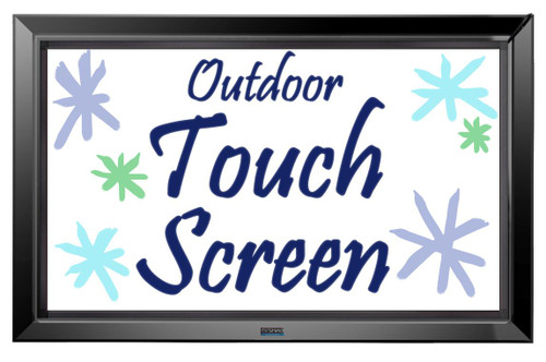 42-80 Inch Outdoor IR Touch Screen Frame for The TV Shield Pro-The TV Shield