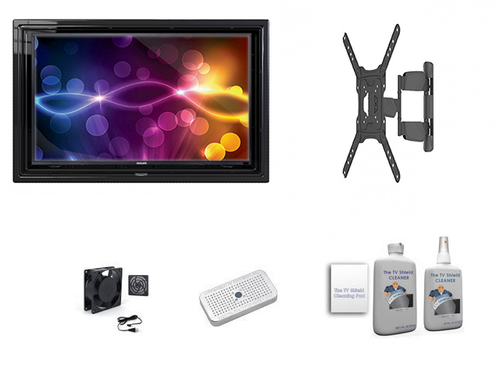 """The Display Shield 30-32"""" Outdoor Enclosure Full Motion Mount Ultimate Kit"""