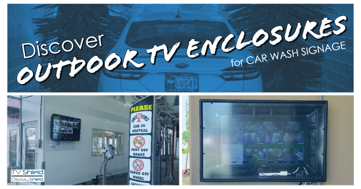 transportation digital signage for car washes