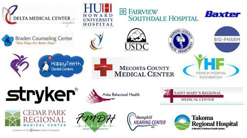 PEC's healthcare digital signage enclosure customers