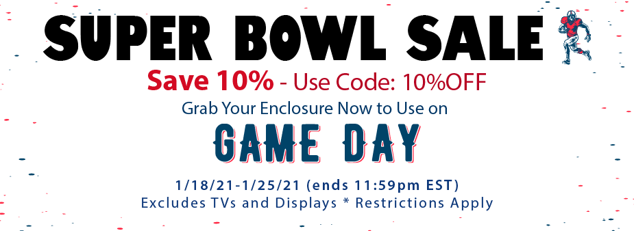 super bowl outdoor tv sale