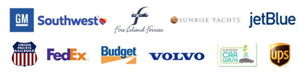 Transportation customer logos PEC