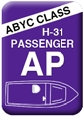 Boat Seats - Class AP - Passenger