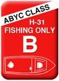 Boat Seats - Class B - Fishing