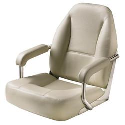 Vetus Master Boat Seat - White