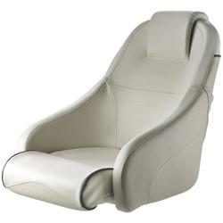 Vetus King Boat Seat - White