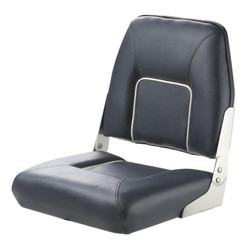 "Vetus ""First Mate"" Folding Boat Seat - Dark Blue"