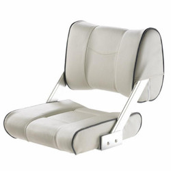 "Vetus ""Ferry"" Flip-Back Boat Seat - White"