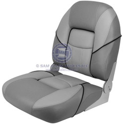 "Relaxn ""Bay"" Series Fold Down Seat - Grey / Light Grey"
