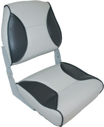 "Deluxe High Back Folding Seats - ""Bluewater"""
