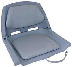Padded Folding Seat - Grey