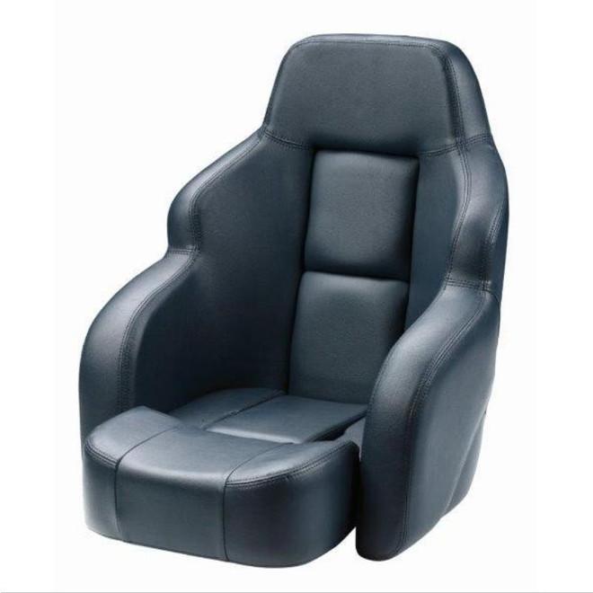 Vetus Commander Boat Seat - Dark Blue