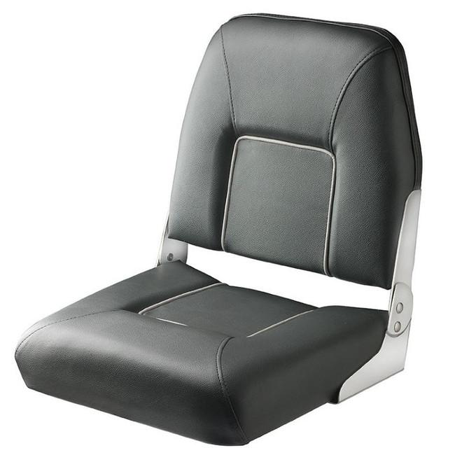 "Vetus ""First Mate"" Folding Boat Seat - Dark Grey"