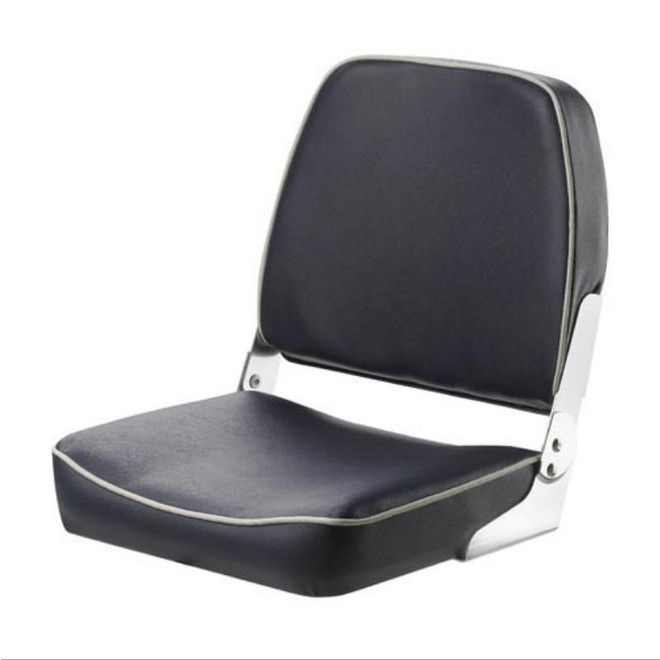"Vetus ""Fisherman"" Classic Folding Boat Seat - Dark Blue"