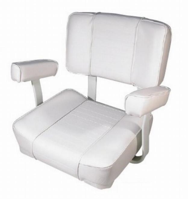 BLA Pilot Seat - Penrose Deluxe White