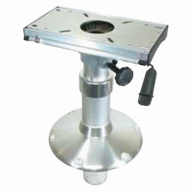 Table Pedestal with Slide - Gas, Adjustable