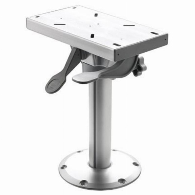 Vetus Fixed Height Removable Seat Pedestal with Slide & Swivel