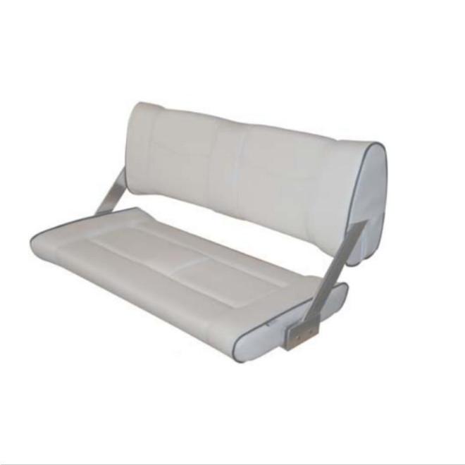 Double Flip-Back Seats - Light Grey