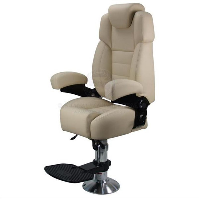 Relaxn Voyager Pilot Seat with Pedestal & Footrest - Beige