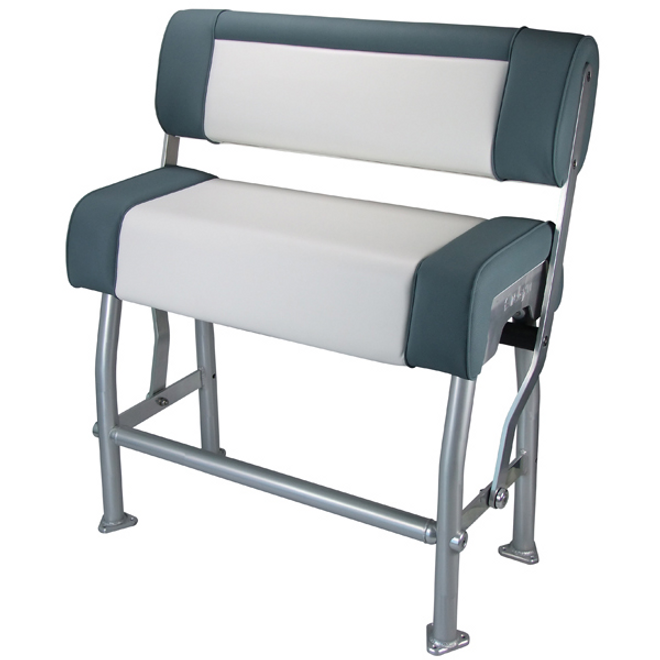 Relaxn Centre Console Flip-Back Seat Grey/White