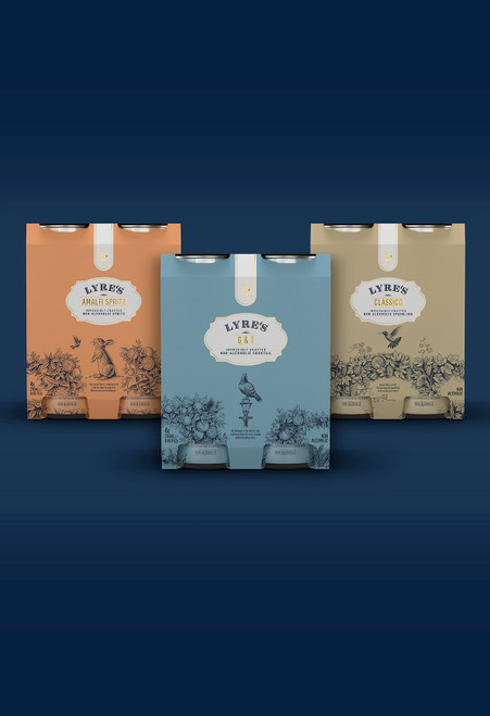 Lyre's Mixed Ready To Drink - Pack of 12