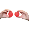 CanDo Hand Exercisers Round vs Egg Shape