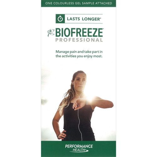 Biofreeze Eng Patient Brochure Cover