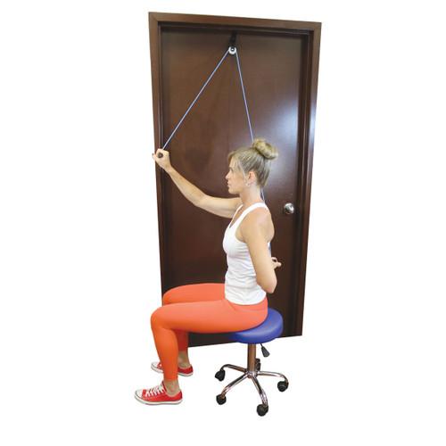 Health Medic Shoulder Pulley in Use