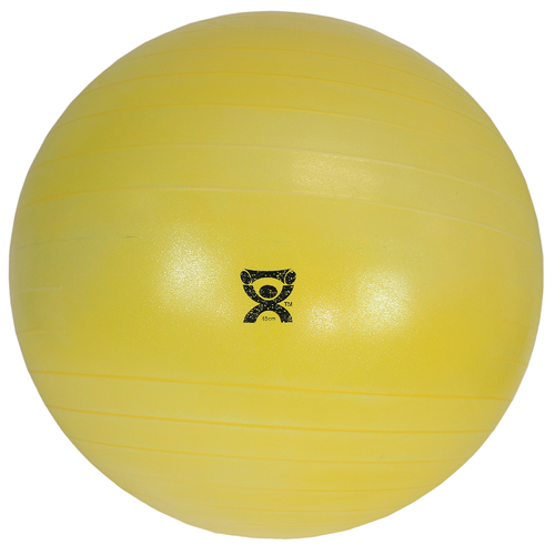 CanDo Deluxe ABS Exercise Ball Yellow