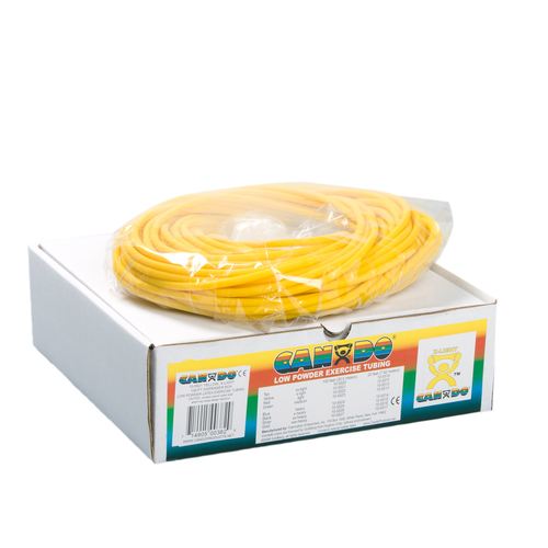 CanDo Exercise Tubes - 100 Foot Box Yellow