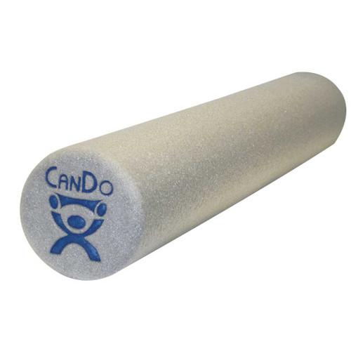 CanDo Foam Roll - Grey Standard Density