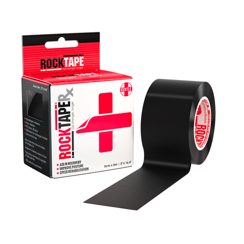 """2"""" RockTape RX - Black Product With Box"""