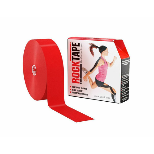 "2"" RockTape Bulk Red Product with Package"