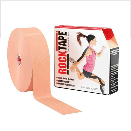 "RockTape 2"" Bulk Beige Product With Package"