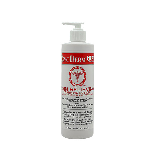 CryoDerm Heat - 16 oz Pump
