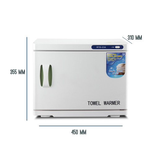 Essentials Towel Warmer With Measurement