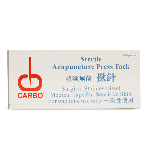 Carbo Sterile Acupuncture Press Tacks 100/box