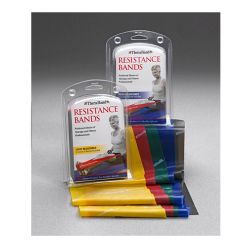 TheraBand Resistance Band Packs (English and French)