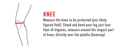 How to measure a knee