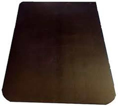 MUD FLAP 24x30 BLACK THERMOFLX