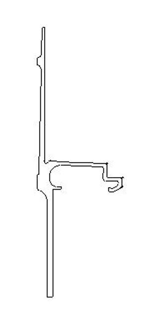 BOTTOM RAIL, NEW STYLE (51.75')