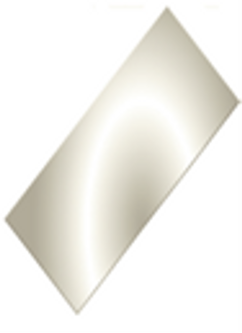 SIDE PANEL, ALUM. .050 -  WHITE/WASH