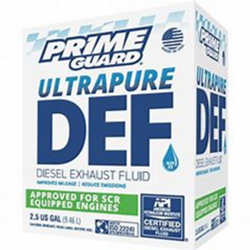 DIESEL EXHAUST FLUID, 2.5 GALLON