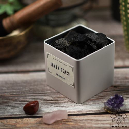 Grounding Lava Stone Pot Pourri