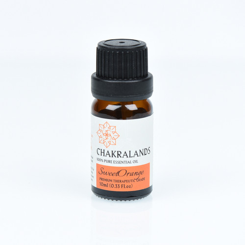 ChakraLands 100% Pure Sweet Orange Essential Oil All Natural Therapeutic Grade for Aromatherapy Meditation Yoga and More