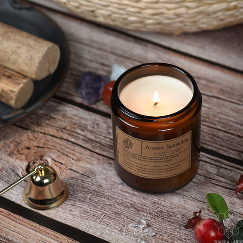 100% Soy Candle with Lavender + Eucalyptus Essential Oils