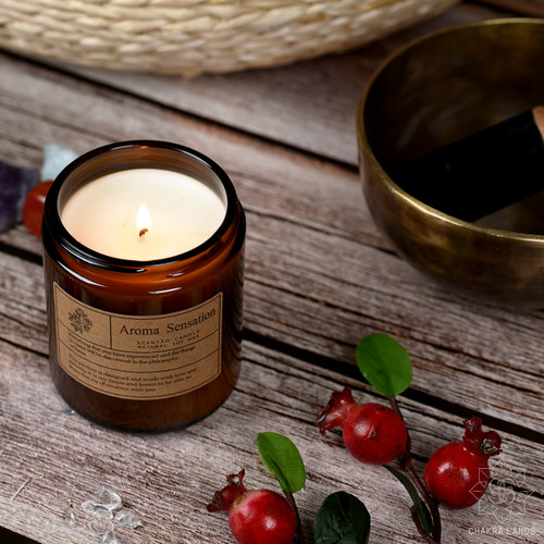 100% Soy Candle with Gardenia Essential Oils