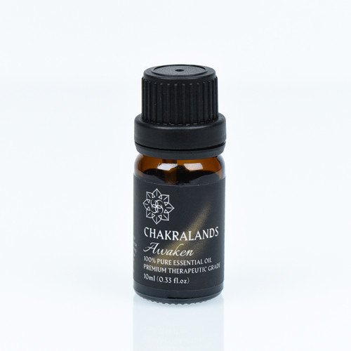 ChakraLands Awaken Essential Oil Crown Chakra Essential Oil 100% Natural Therapeutic Grade for Aromatherapy Meditation Yoga and More