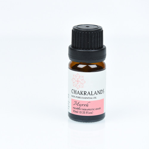 ChakraLands Mryhh Essential Oil 100% Pure Therapeutic Grade for Aromatherapy Meditation Yoga and More