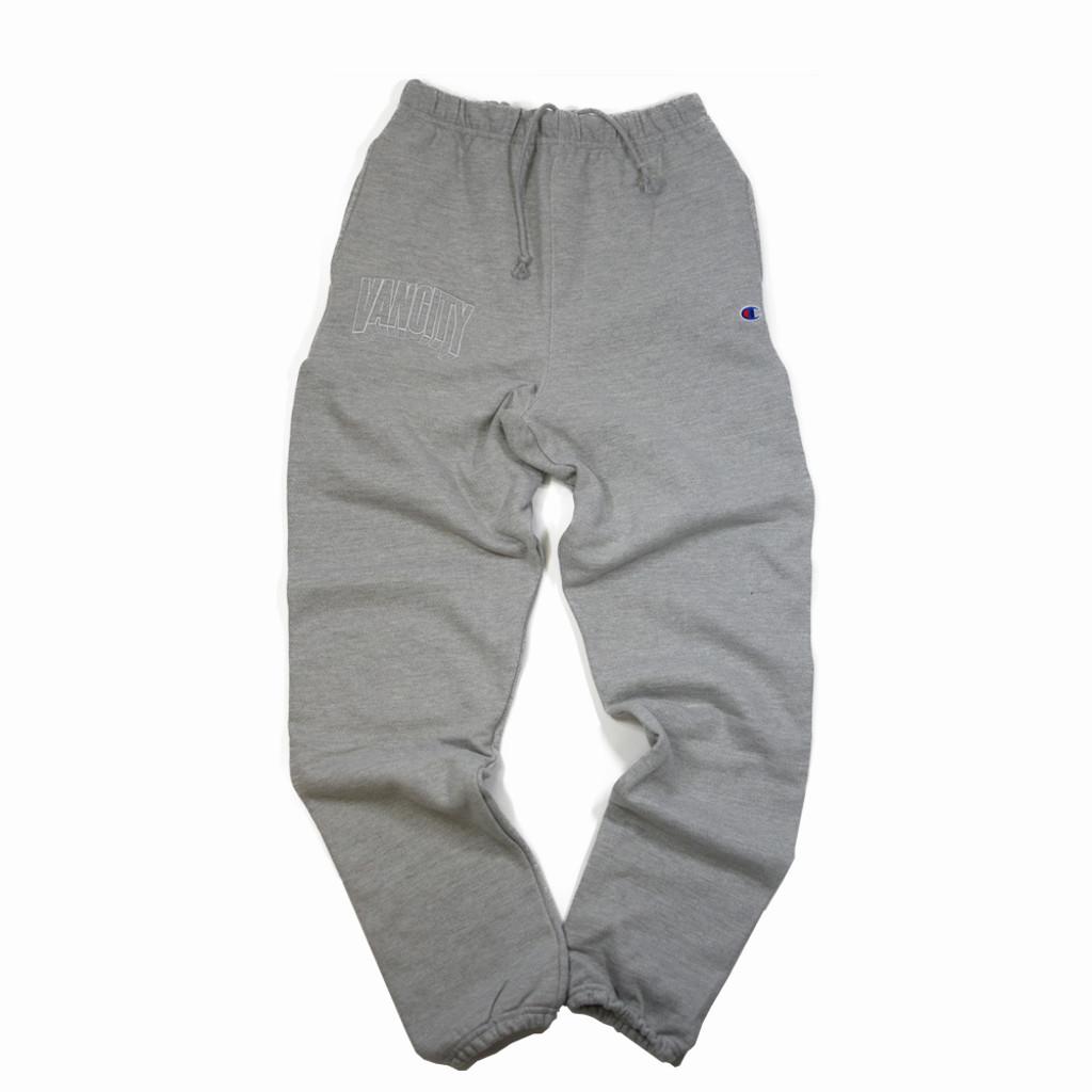 Dimensions Premium Reverse Weave Sweatpants - Atheltic Grey